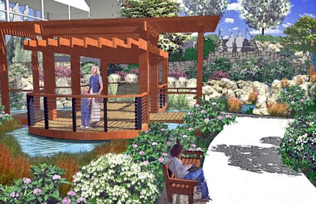 Good Samaritan Medical Center Healing Garden Macdonald Environmental Planning Pc