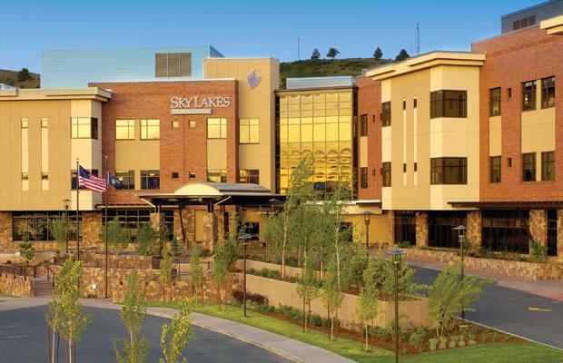 Sky Lakes Medical Center Healing Garden Meditation Courtyard Macdonald Environmental